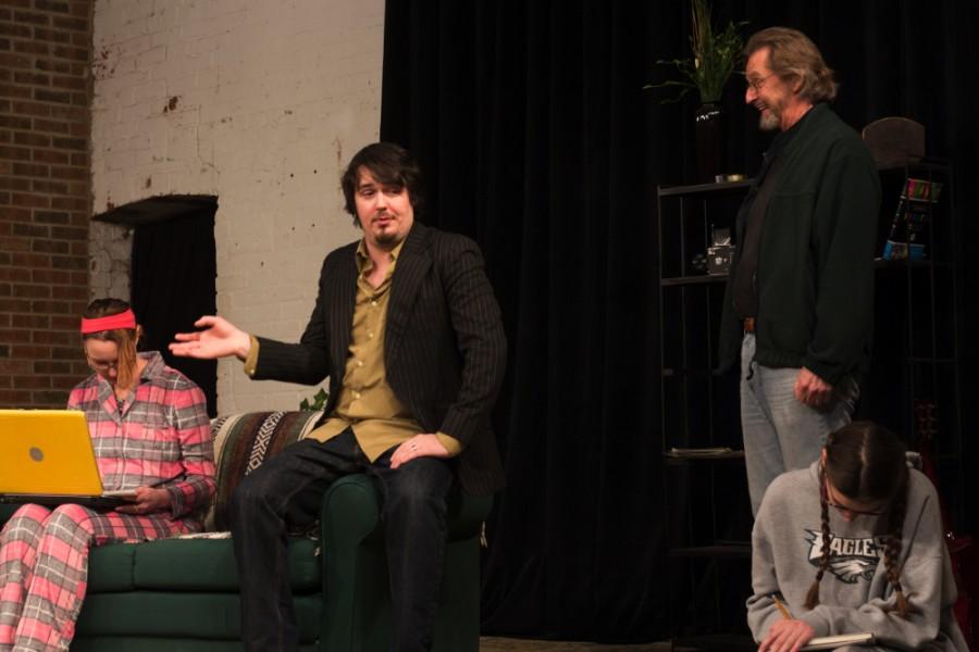 Marie+Jozwiak%2C+Sam+Kruckeberg+and+Duke+Bagger+perform+in+the+Charleston+Alley+Theatre%E2%80%99s+production+of+%E2%80%9CThe+Wild+Duck%E2%80%9D+Saturday.