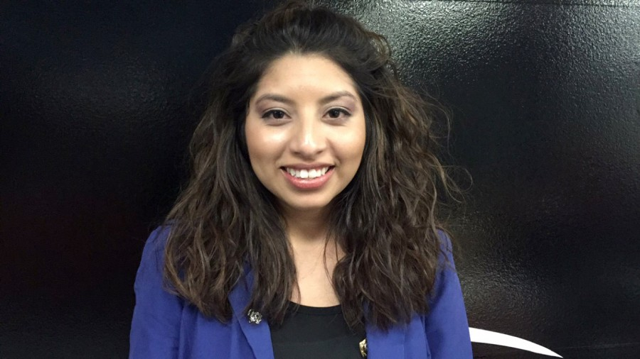 Kenia Gonzalez, candidate for Vice President for Student Affairs.