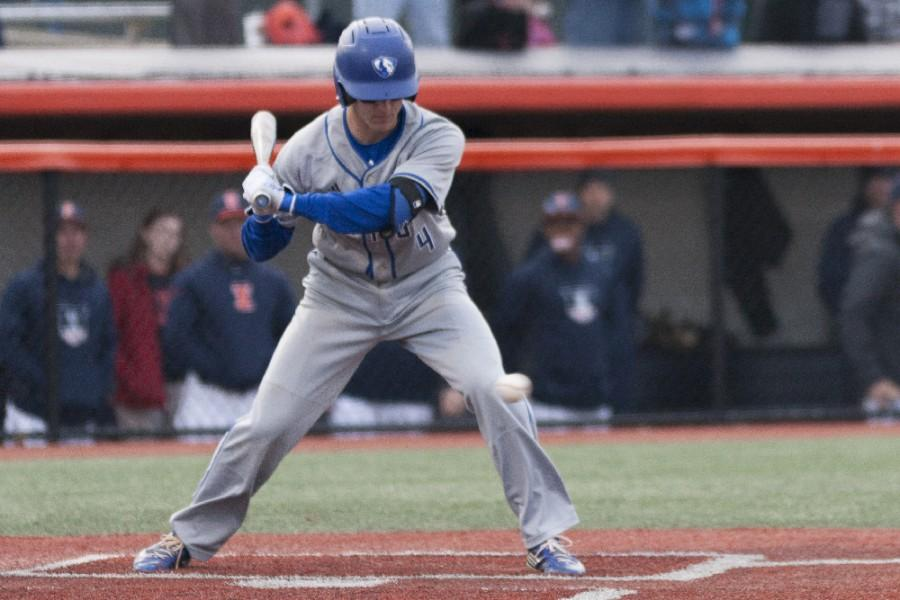 Senior infielder Mitch Gasbarro had one run, one hit and two RBIs at four at bats during the Panthers' 9-7 loss to Illinois on Tuesday at Illinois Field in Champaign.