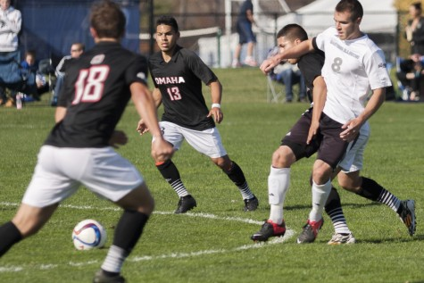 Men's soccer midfielder up for national scholarship