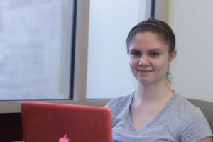 Allison Stangel, a senior music and Spanish major.