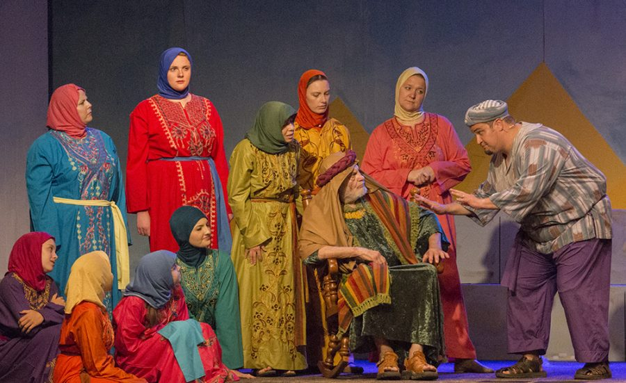Members of Central Illinois Stage Company perform