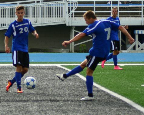 Men's soccer team wraps up preseason