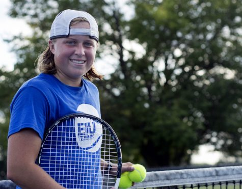 Summers enjoying tennis now while planning for future
