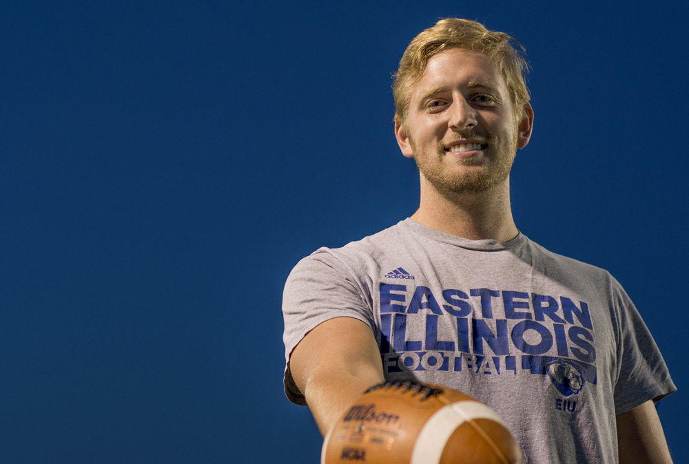 Redshirt junior punter Cody Edwards' football career has been plagued by injuries since the eighth grade.
