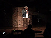 University of Illinois at Springfields local rapper Fadah bring lyrics and flow to EIUs Open Mic Night.