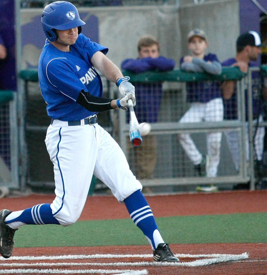 Junior+Joseph+Duncan+connects+for+a+homerun+Saturday+at+Tointon+Family+Stadium+in+Manhattan%2C+Kan.+Duncan+is+currently+hitting+.310+with+13+hits+in+42+attempts+and+8+rbis.