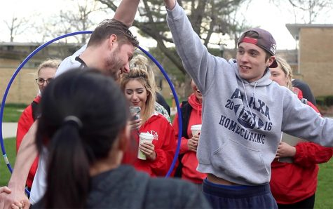 Greek Week Unity Relay Races: Video