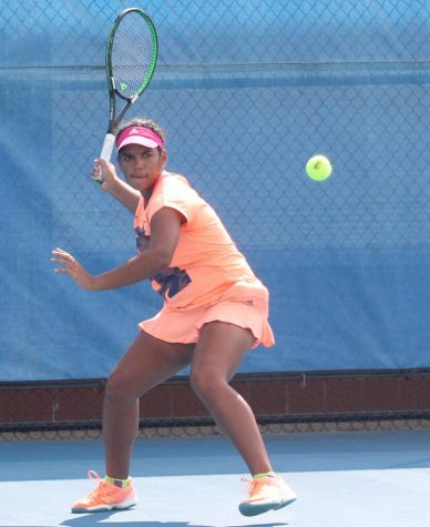 Tennis player fueled by faith