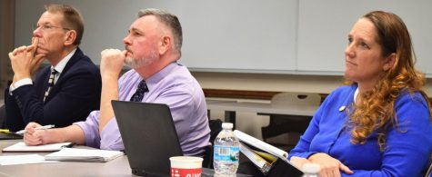 Review committee hears of enrollment trends, proposals
