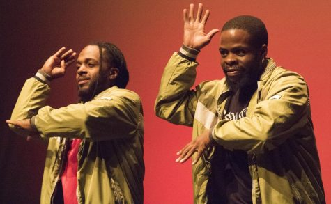 Members of the Soul Street Dance Company perform in the Doudna Fine Arts Center Tuesday night.