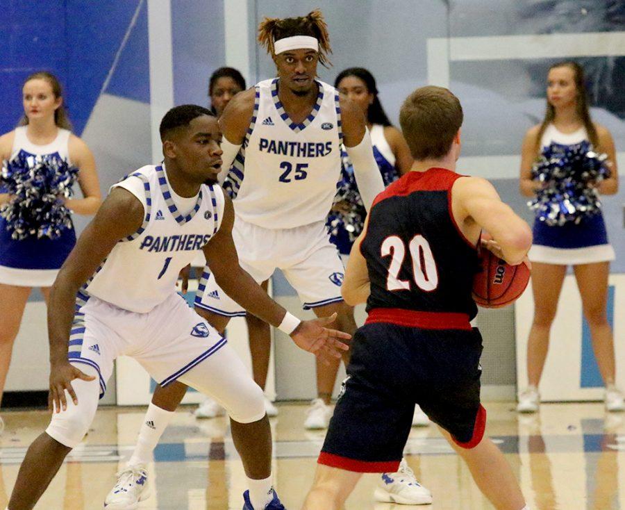 Men's basketball team in need ofwin