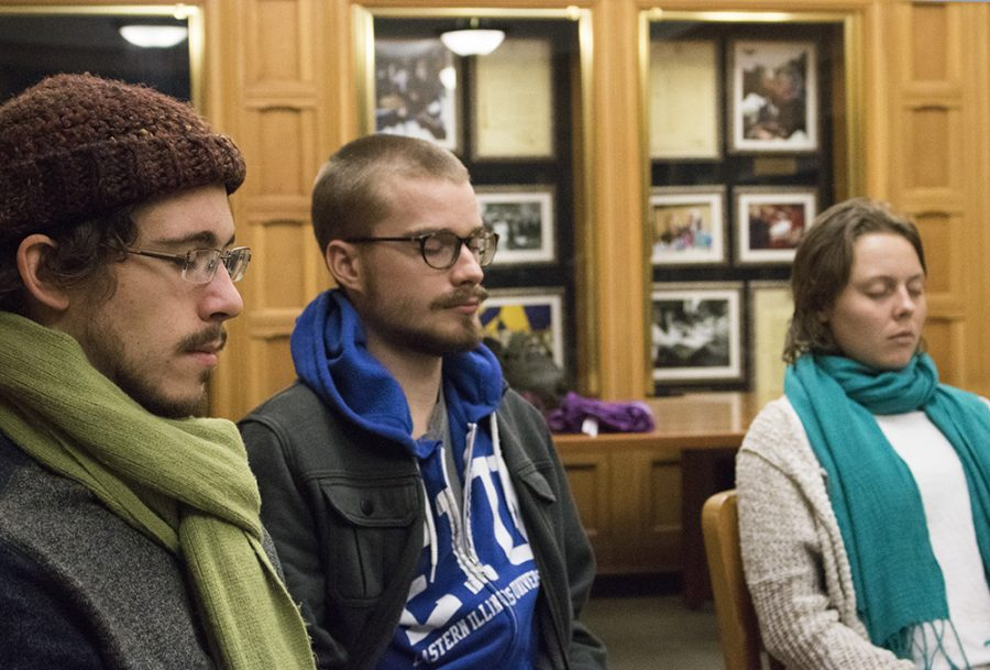 EIU Meditation Club offers a sense of ease to students