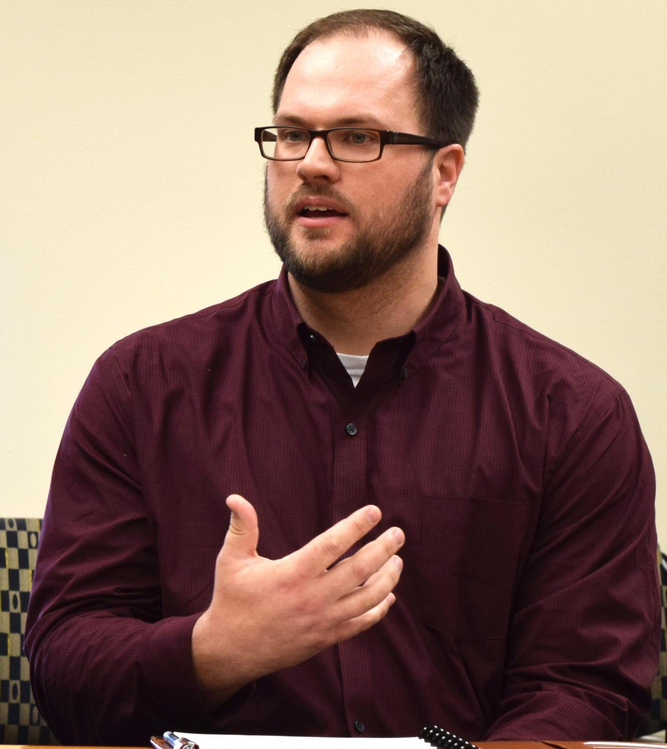 Joshua Awalt is the interim associate V.P for Information Technology Services. He said his department is working hard to prepare for the campus-wide switch from Banner 8 to Banner 9, dealing with academic partnership, the WiFi on campus and more.