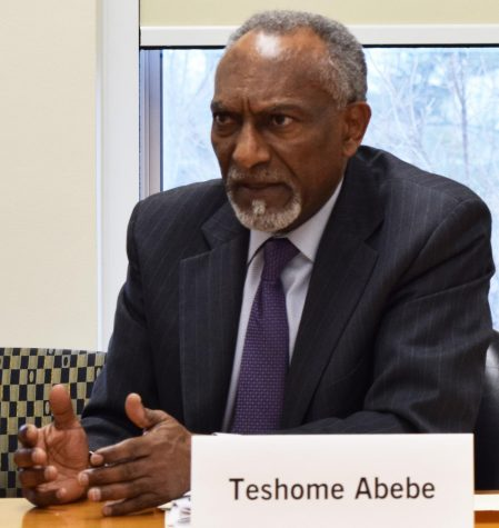 Teshome Abebe is an economics professor and is also a member of the Faculty Senate. He said he was in support of a continuing, faculty-driven committee that was focused on looking at the future of Eastern.