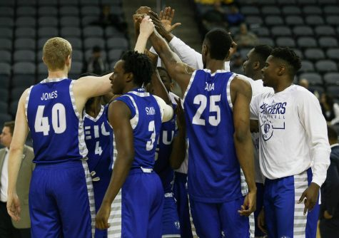 Men's basketball team drops opener to Nebraska