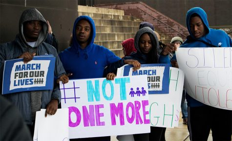 Students share experiences, activists rally against gun violence during 'March for Our Lives'