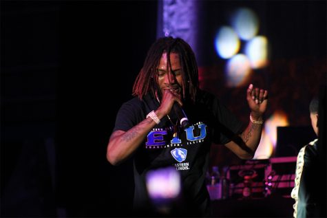 Screaming fans  welcome Fetty Wap Saturday