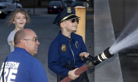 Local boy fighting cancer named honorary UPD officer