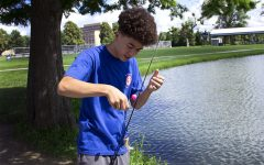 FEATURE PHOTO: Fishing on campus