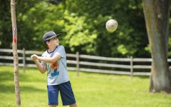 PHOTO GALLERY: Town ball at Lincoln Log Cabin