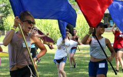 PHOTO GALLERY: Flag routines for Smith Walbridge Clinic