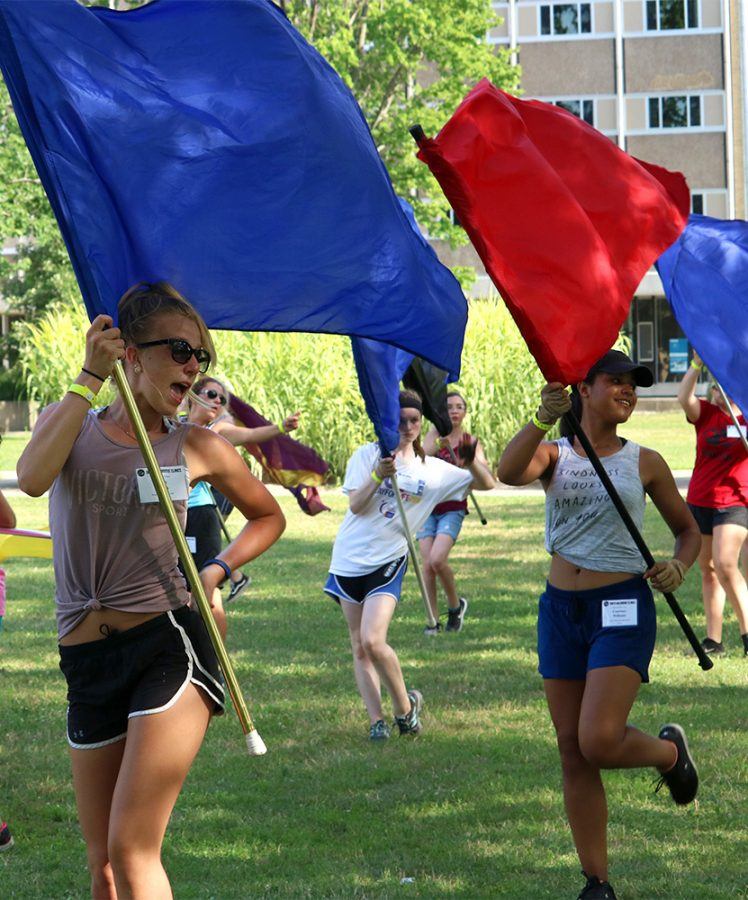 PHOTO GALLERY: Flag routines for Smith WalbridgeClinic