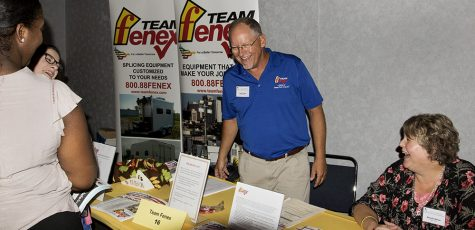 Students find opportunity at job fair