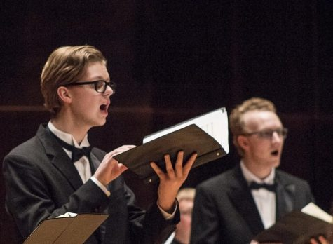 Choral groups perform in Elementium concert