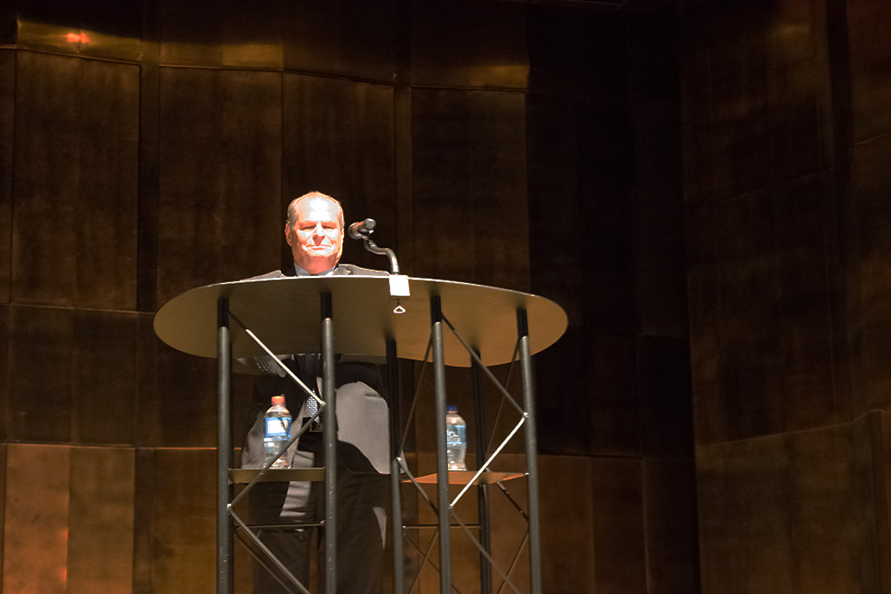 Eastern President David Glassman gave his State of the University Address at 3:30pm Wednesday at the Dvorak Concert Hall in the Doudna Fine Arts Center.
