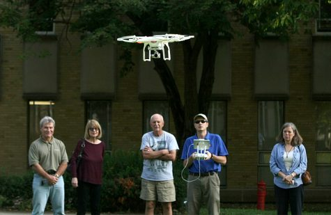 PHOTO GALLERY: Drone demonstration