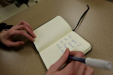 New year, new me: Students share new year'sresolutions
