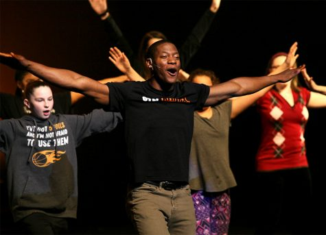 GALLERY: Step Afrika! wows audience at Doudna
