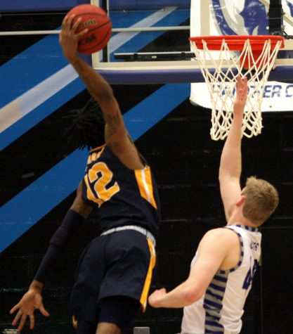 Murray State's Ja Morant throws a dunk down in his team's 83-61 win over Eastern on Jan. 17.