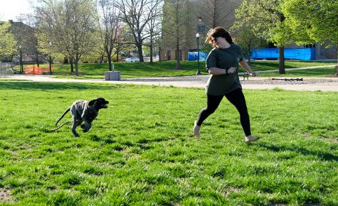 Gallery: Frisbee before a movie