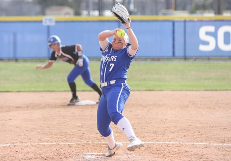 Eastern softball team traveling to last-place Eagles