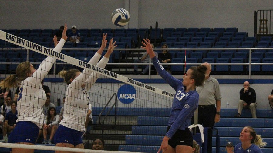 OVC volleyball teams off to slow starts – The Daily Eastern News