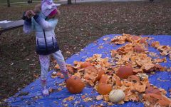 FEATURE PHOTO: Sometimes you just need to smash pumpkins