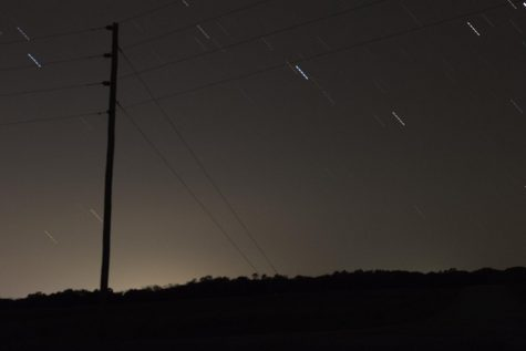 Star gazers and casual viewers were able to watch the Orionid Meteor Shower on Monday and Tuesday night. According to BBC, optimal viewing hours were from 11:30 p.m. to dawn. This photo, while it does not contain meteors, shows the progress of the stars moving across the night sky in Ashmore, Illinois.