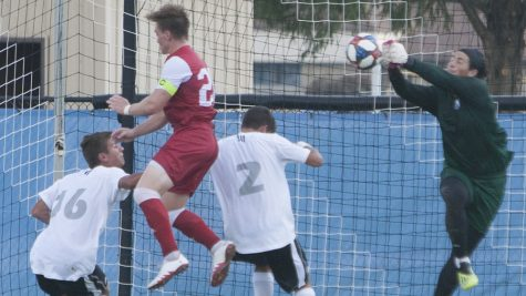 Men's soccer looks to protect undefeated home record against Oral Roberts Saturday
