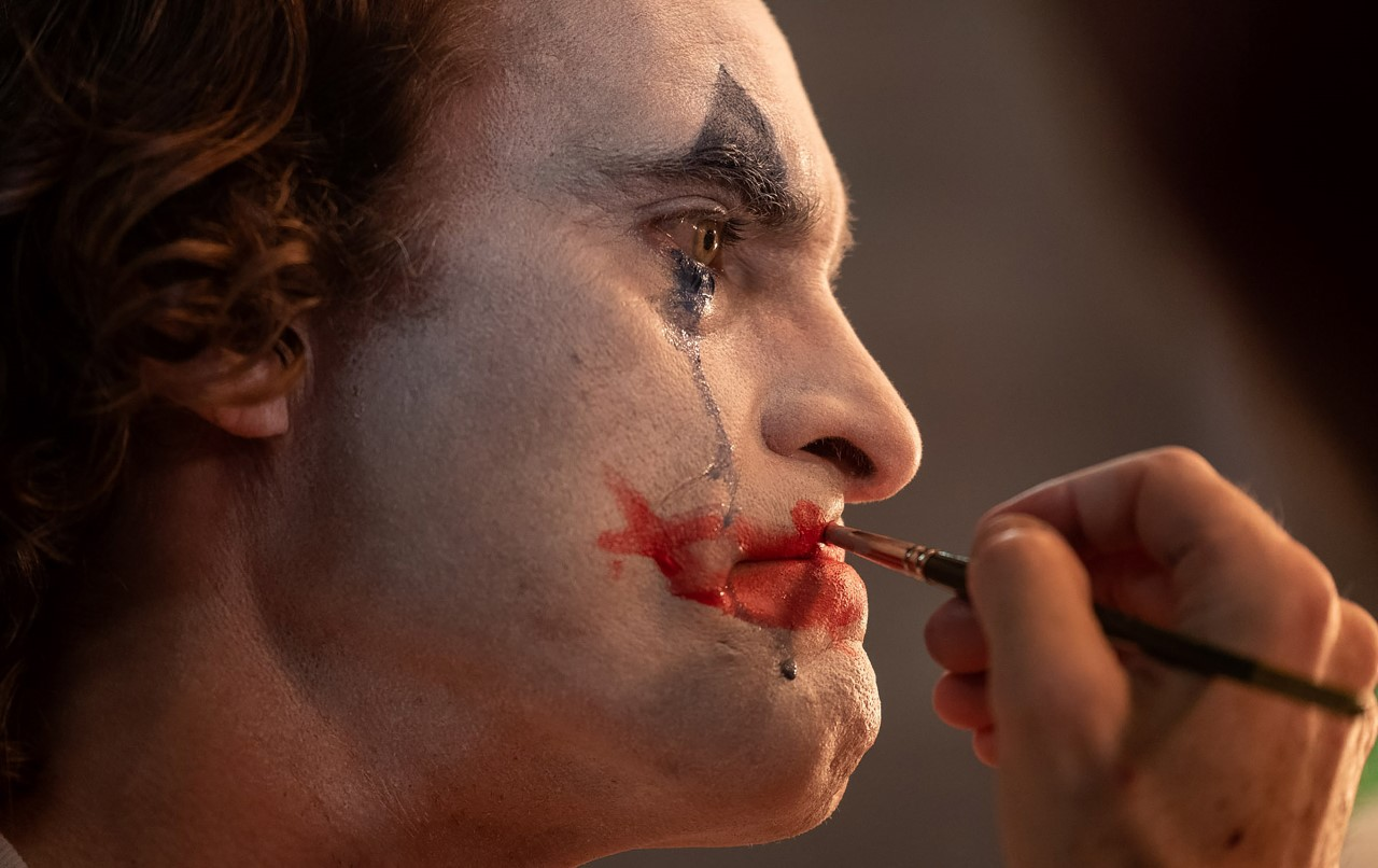 "Joaquin Pheonix as Arthur Fleck in Warner Bros. Pictures, Village Roadshow Pictures and BRON Creative's tragedy ""Joker."" Photo by Niko Tavernise, courtesy of Warner Bros. Pictures."