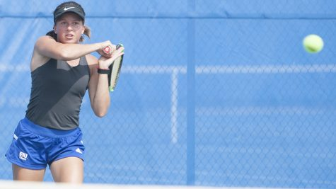 Women's tennis team finds success at EIU Panther Invite