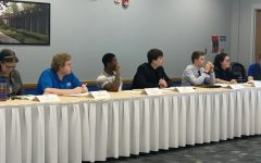 Student Senate hears state of senate and university addresses