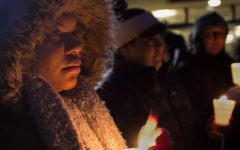 Students gather to honor MLK Jr.Monday