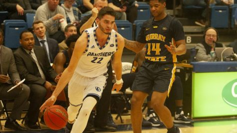 Men's basketball wraps up tough month at Marquette
