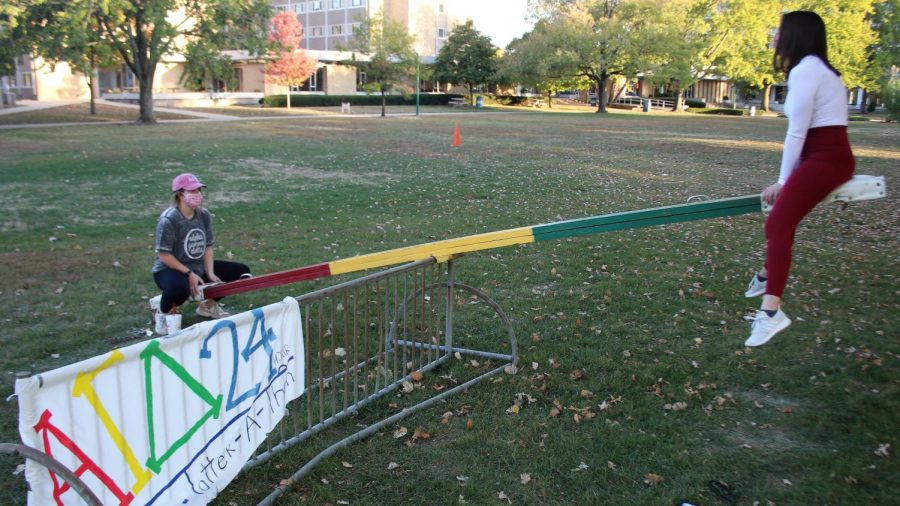FEATURE PHOTO: Teetering in thequad