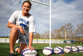 Former Eastern rugby player Lauren Doyle going to Olympics