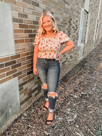 Karen Gonski is the 2021 president of the Panhellenic Council.