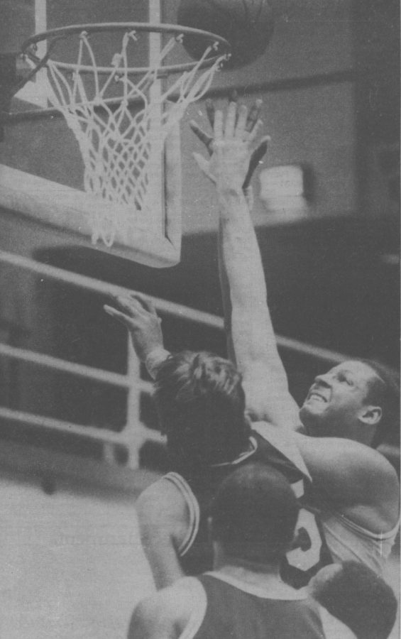 Eastern Center Kevin Duckworth muscles inside for two of his 12 points from Dec. 10, 1984.