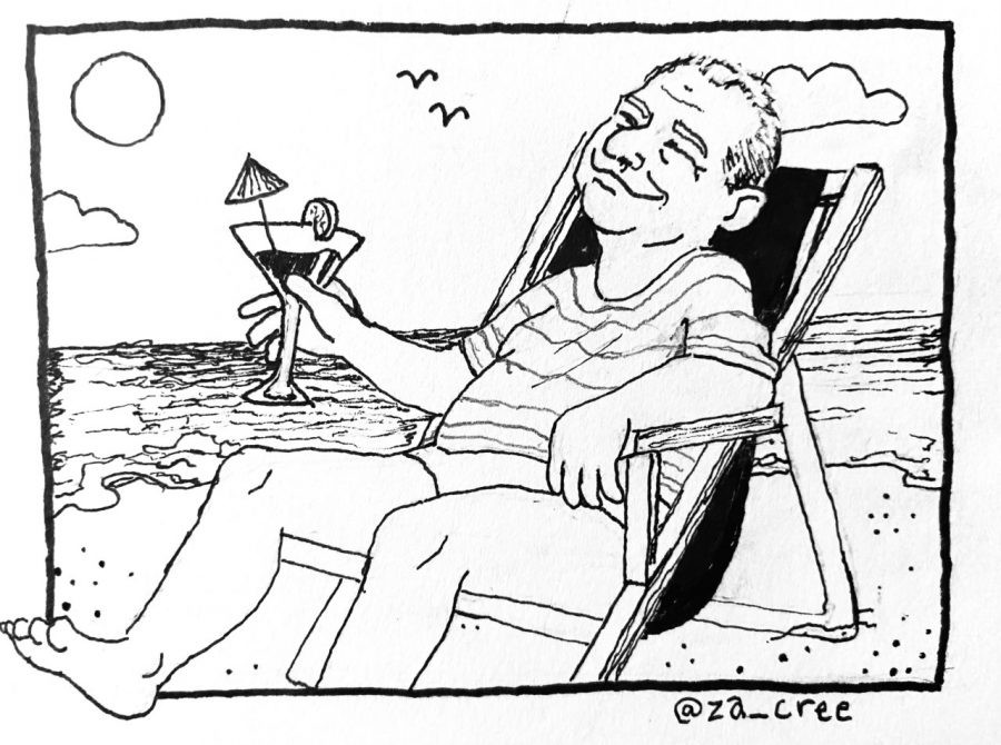 COMIC: Glassman on vacation